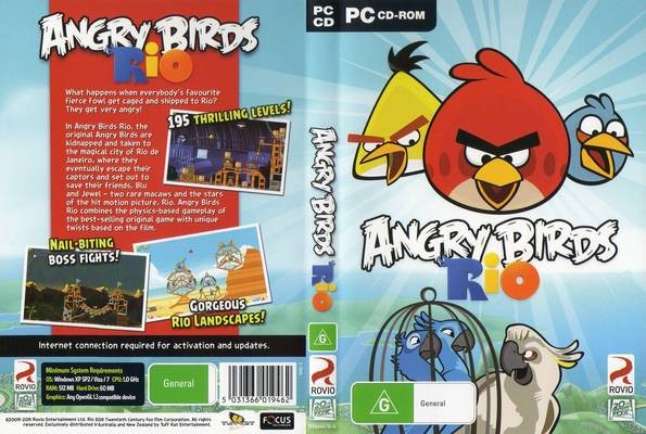 Download Angry Birds Rio PC 1.4.4 for Windows