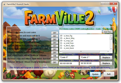 farmville 2 trainer