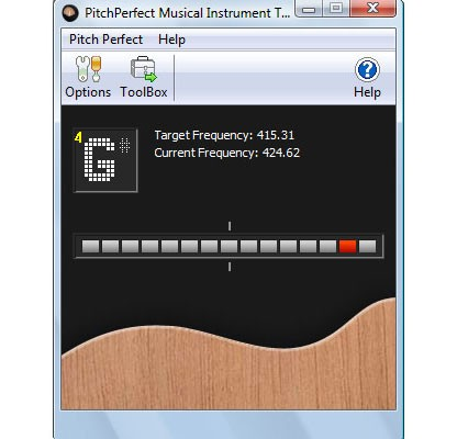 PitchPerfect Free Guitar Tuning Software 2.12