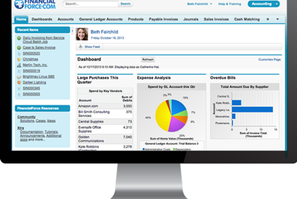The #1 Accounting Software on the Salesforce Platform