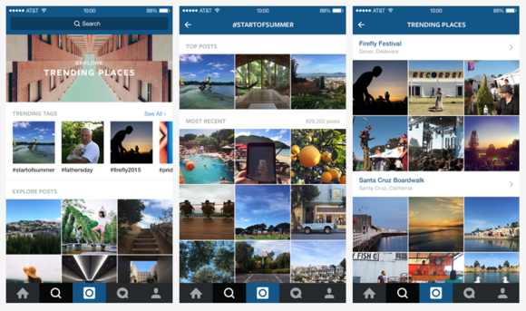 Instagram makes it easier to discover trending events