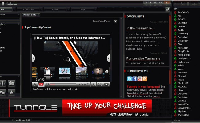 Tunngle 5.8.3 Download